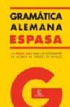 gramatica alemana espasa-9788467019445