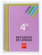 cuaderno refuerzo de lengua 4º eso-9788467516845