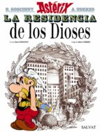 asterix 17: la residencia de los dioses rene goscinny 9788469602645