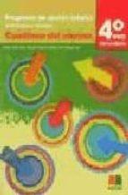 programa de accion tutorial: actividades y recursos (cuaderno del alumno)(4º eso) 9788472783645