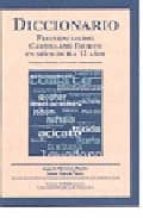 diccionario: frecuencias del castellano escrito en niños de 6 a 1 2 años (incluye cd-rom)-jesus a. martinez martin-9788472996045