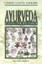 ayurveda: guia practica candis cantin packard 9788477205845