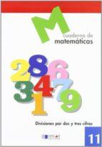 cuaderno de matematicas, nº 11 9788489655645