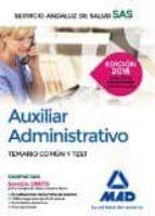 TEMARIO COMUN Y TEST AUXILIAR ADMINISTRATIVO SAS