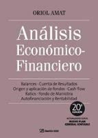 analisis economico financiero-oriol amat-9788496612945