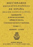 diccionario geografico historico de españa (ed. facs.) 9788497610445