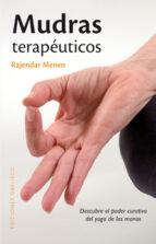 mudras terapeuticos-rajander menen-9788497776745