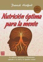 nutricion optima para la mente-patrick holford-9788499173245