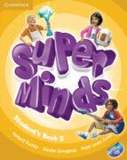 super minds level 5. student´s book with cd rom herbert puchta günther gerngross peter lewis jones 9780521223355