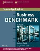 business benchmark advanced. student s book bec higher edition guy brook hart 9780521672955
