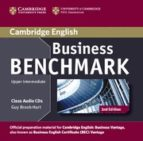 business benchmark (2nd edition) upper intermediate business vant age class audio cds (2) guy brook hart norman whitby 9781107633155