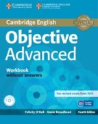 objective advanced workbook without answers with audio cd 4th edition-9781107684355