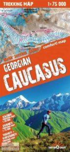 cáucaso georgiano, mapa de trekking plastificado 9788361155355