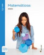 matematicas 3º eso serie avanza ed 2016 andalucia-9788414102855
