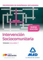 profesores de enseñanza secundaria intervención sociocomunitaria temario volumen 1 9788414208755