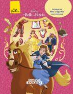la bella y la bestia. historias animadas: libro con 10 figuritas-9788416913855