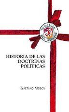 historia de las doctrinas politicas gaetano mosca 9788429015355