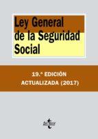 ley general de la seguridad social (19ª ed.) 9788430972555