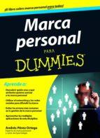 marca personal para dummies-andres perez ortega-9788432902055