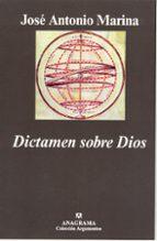 dictamen sobre dios jose antonio marina 9788433961655