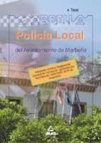 policia local del ayuntamiento de marbella. test fernando martos navarro 9788466528955