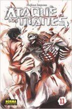 ataque a los titanes 11-hajime isayama-9788467917055
