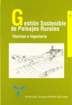 gestion sostenible de paisajes rurales 9788471149855