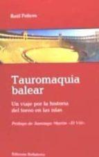 Tauromaquia balear por Raúl felices 978-8472907355 EPUB FB2