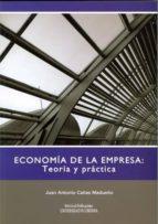 economia de la empresa: teoria y practica juan antonio cañas madueño 9788478019755