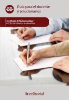 (i.b.d.)fábricas de albañilería. eocb0108 guía para el docente y soluciones arios-9788483649855