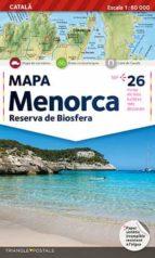 mapa menorca (1:60000)-9788484780755