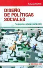 diseño de políticas sociales (ebook)-fernando fantova-9788490238578