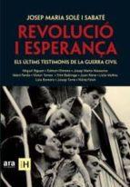 revolucio i esperança-josep m. sole i sabate-9788492552955