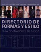 (pe) directorio de formas y estilos para diseñadores de moda simon travers 9788495376855