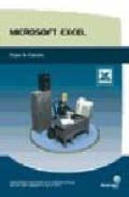 Microsoft excel. hojas de calculo por Vv.aa. PDF DJVU