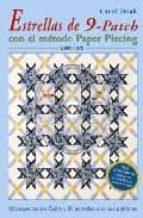 estrellas de 9 patch con el metodo paper piecing (libro + dvd) carol doak 9788496777255