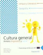 cultura general: ambito linguistico y social (pcpi) andrea pastor 9788497327855
