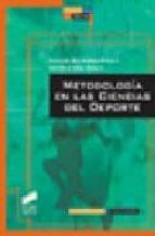 metodologia en las ciencias del deporte marcos gutierrez davila antonio oña sicilia 9788497563055