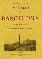 las calles de barcelona en 1865 (3 vols) (facsimil) victor balaguer 9788497614955