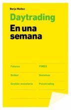 daytrading: en una semana-borja muñoz-9788498753455