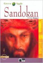 sandokan. book + cd-emilio salgari-9788853004055