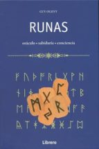 runas ,libro + 24 runas de madera guy ogilvy 9789089984555