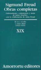 obras completas (vol. xix): el yo y el ello y otras obras (1923-1 925)-sigmund freud-9789505185955