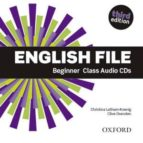 english file beginner class audio cd (5) 3ed 9780194501965