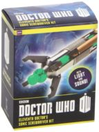 doctor who eleventh doctor s sonic screwdriver kit: with light and sound 9780762452965