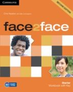 face2face starter workbook with key 2nd edition 9781107614765