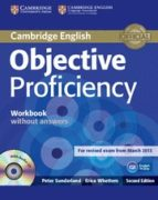 objective proficiency (2nd ed.): workbook without answers with au dio cd annette capel wendy sharp 9781107621565