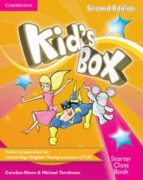 kid s box starter class book with cd rom 2nd edition 9781107659865
