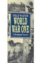 World war one: a chronological narrative Descarga gratuita de libros pdf para kindle
