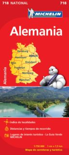 mapa alemania 2012 (ref. 718) 9782067170865